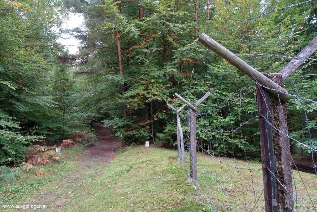 Naturpark Raab wandern Mahnmal Eiserner Vorhang