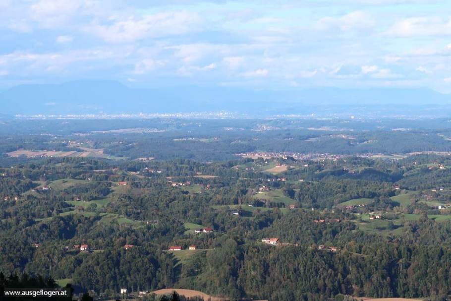 Panorama Ausblick Südsteiermark