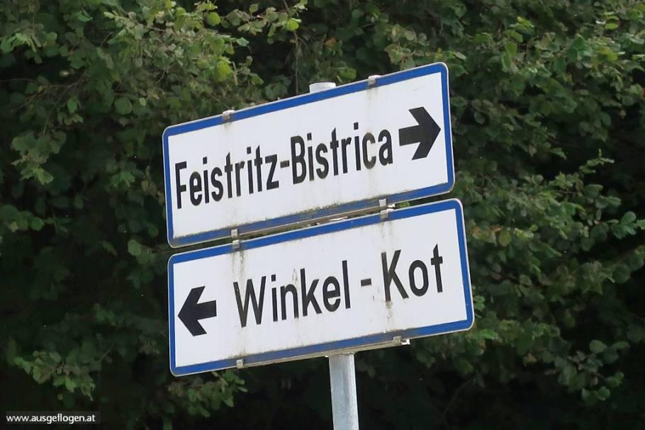 Kärnten Ortstafeln zweisprachig
