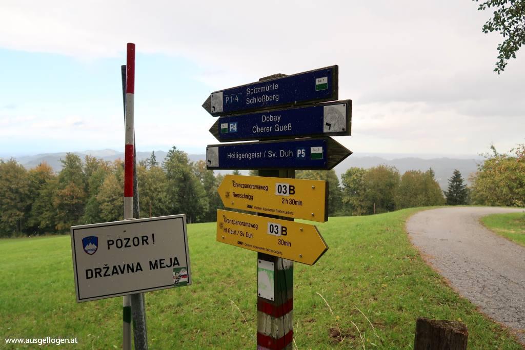 Wanderung Heiligengeistklamm
