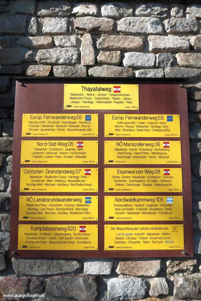 Nebelstein Wanderung Waldviertel