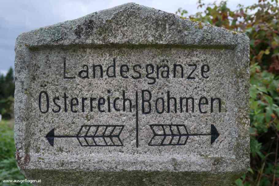 Grenzübergang Pyhrabruck Böhmen