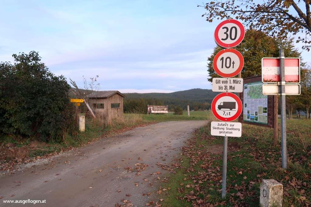 Grenze Buchers Tschechien