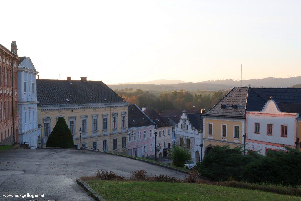 Weitra Sehenswürdigkeiten Rathausplatz