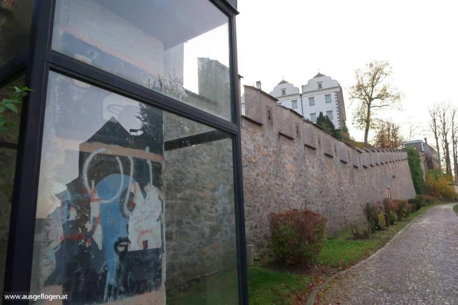 Schloss Weitra Berliner Mauer
