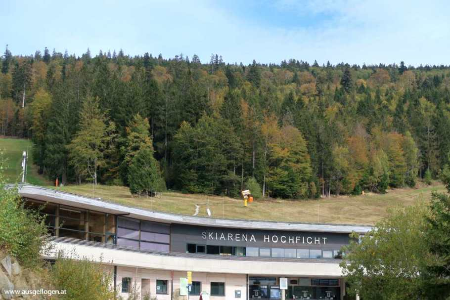 Hochficht Arena Böhmerwald Skifahren