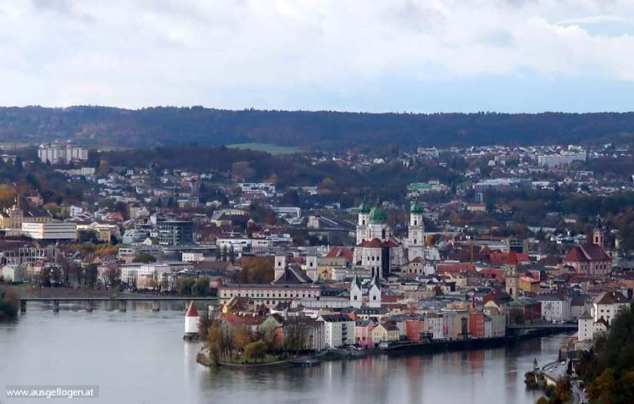 schönster Blick auf Passau