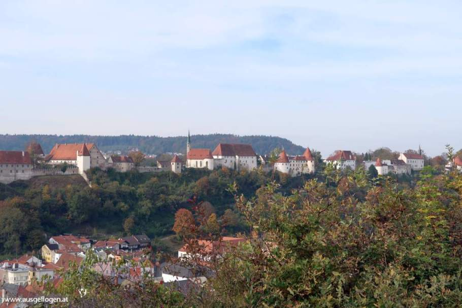 bester Blick Burg Burghausen Panoramablick