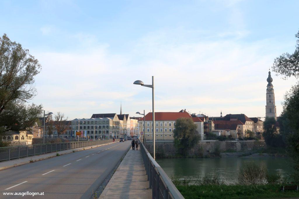 Simbach Braunau Inn Grenze