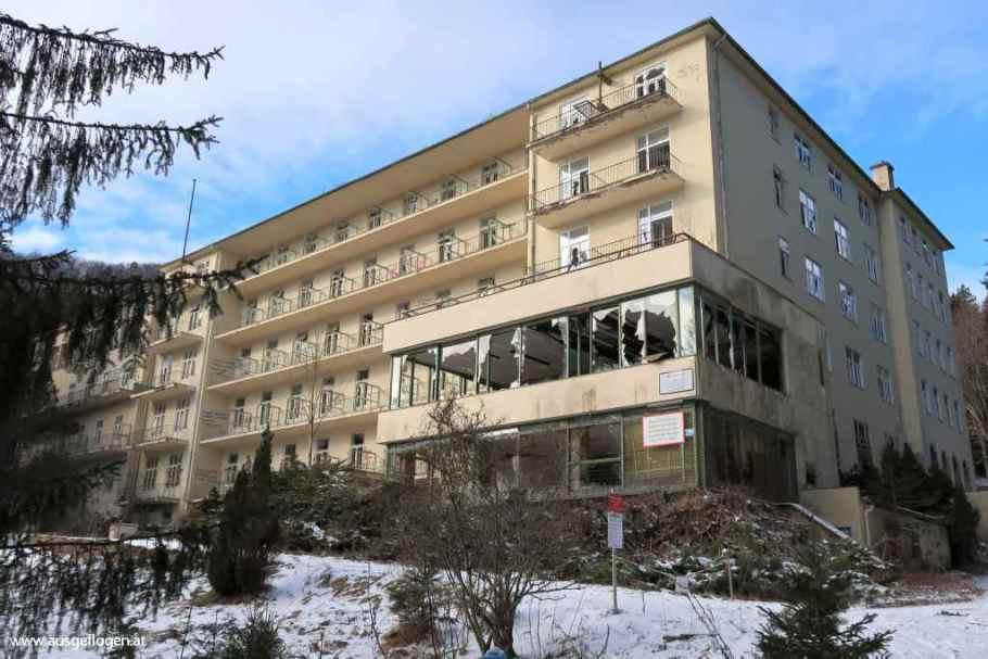 Lost Places Niederösterreich Sanatorium Wienerwald