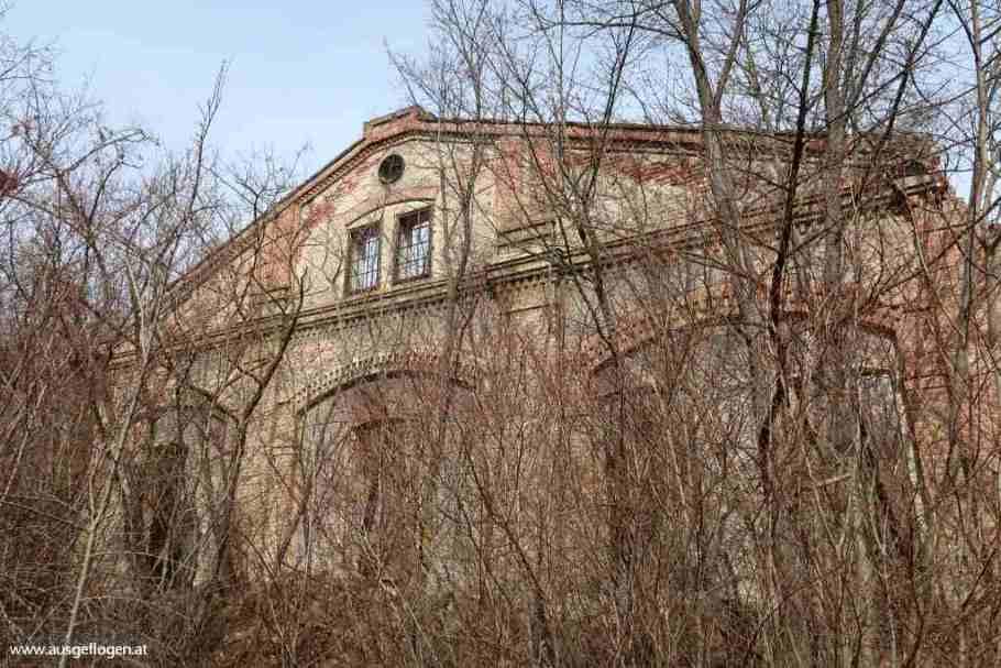 Lost Places Niederösterreich Pulverfabrik Blumau-Neurißhof