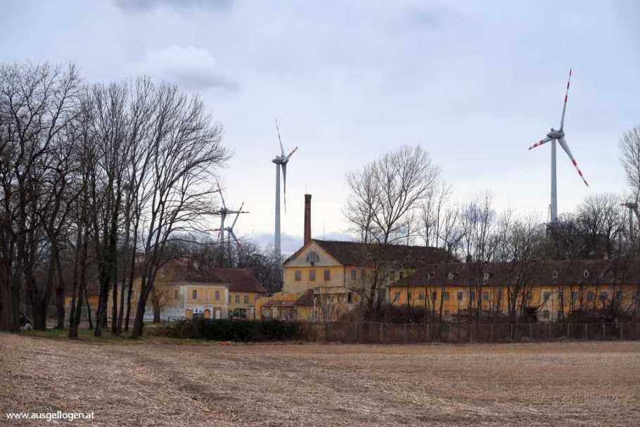 Lost Places Niederösterreich aufgelassene Textilfabrik Weigesldorf