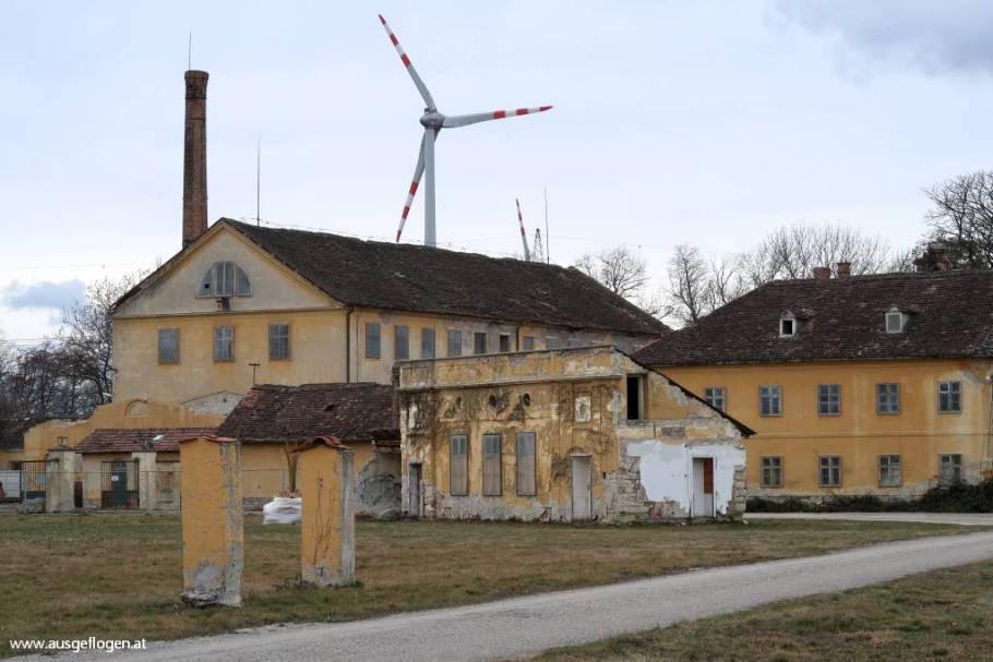 alte Baumwollfabrik Schivizhoffen Weigelsdorf