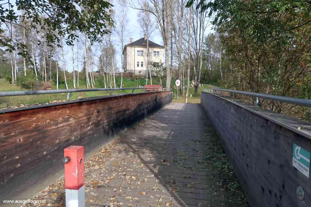 Grenzübergang Hammern Maltsch Mühlviertel