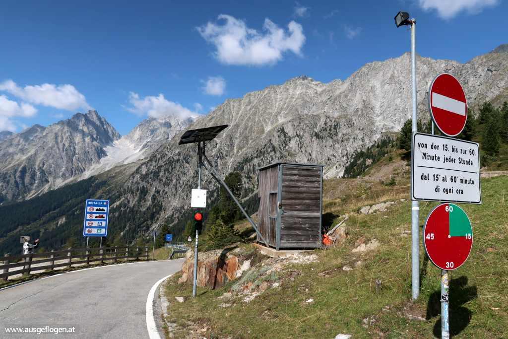 Grenzübergang Staller Sattel Osttirol Defereggental
