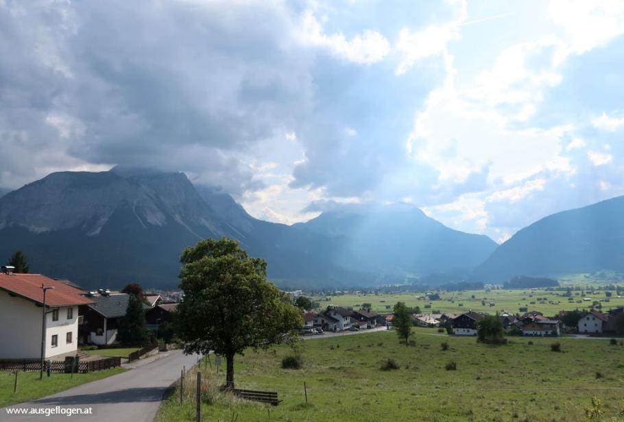 Ehrwalder Becken Außerfern Tirol