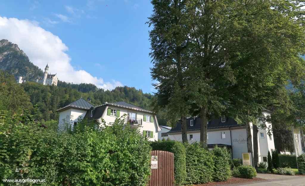 Ausflugsziel Außerfern Schloss Neuschwanstein