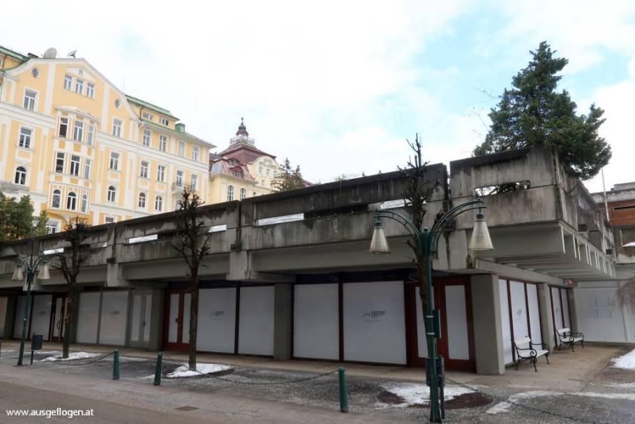Bad Gastein Seheneswürdigkeit Kongresshaus