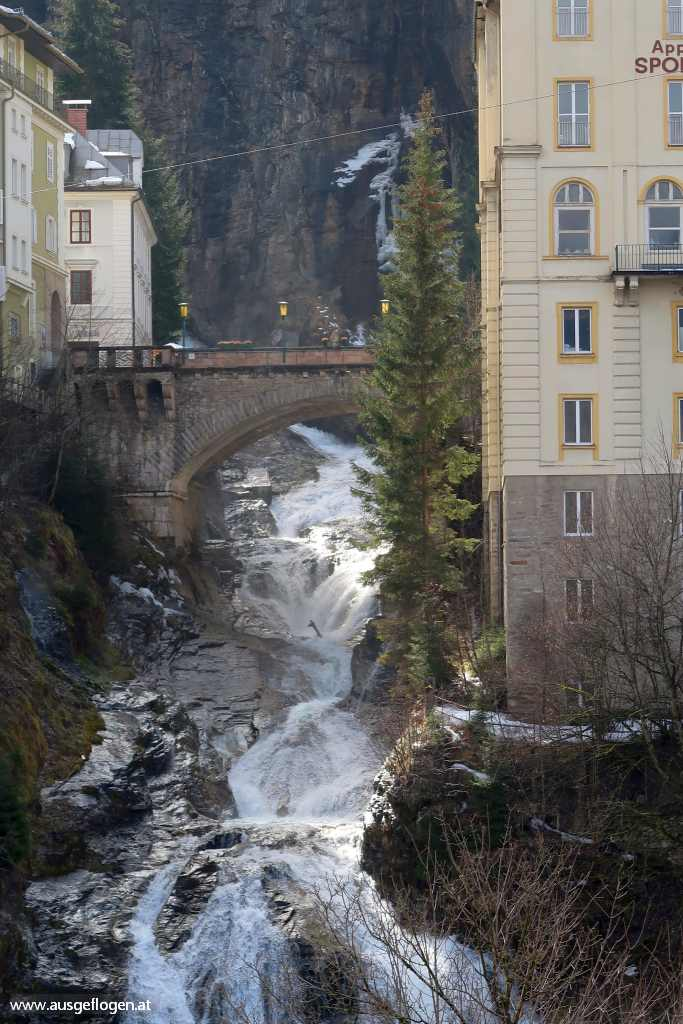 Bad Gastein Sehenswürdigkeiten Ache Wasserfall