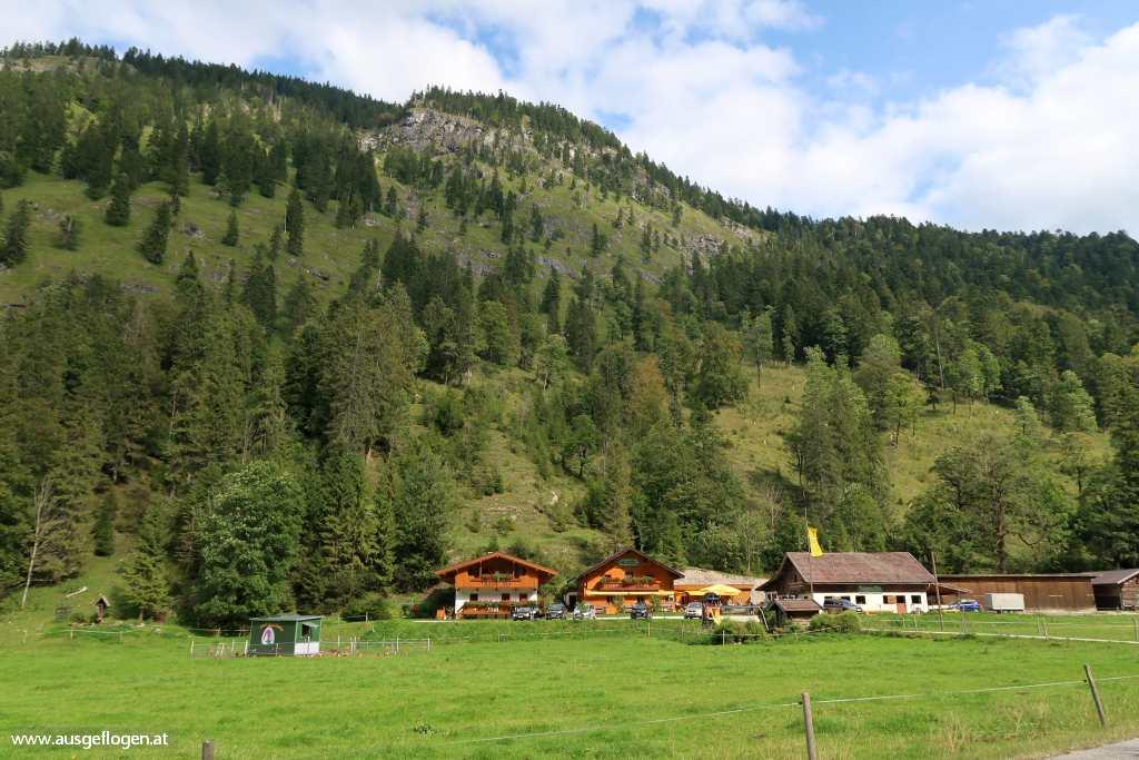 Hinterriß Großer Ahornboden Exklave Österreich