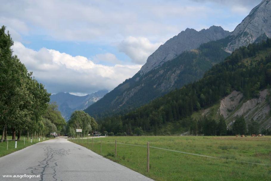 Mautstelle Hinterriß Großer Ahornboden Exklave Österreich
