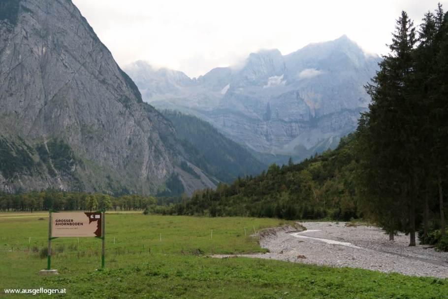 Großer Ahornboden Rißtal Tirol schöne Orte