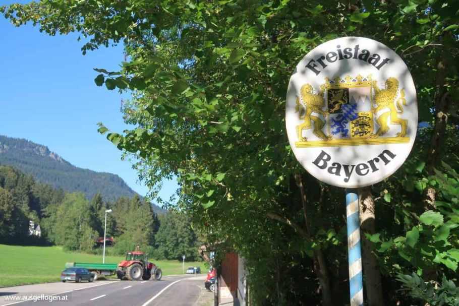 Grenzübergang Wildbichl