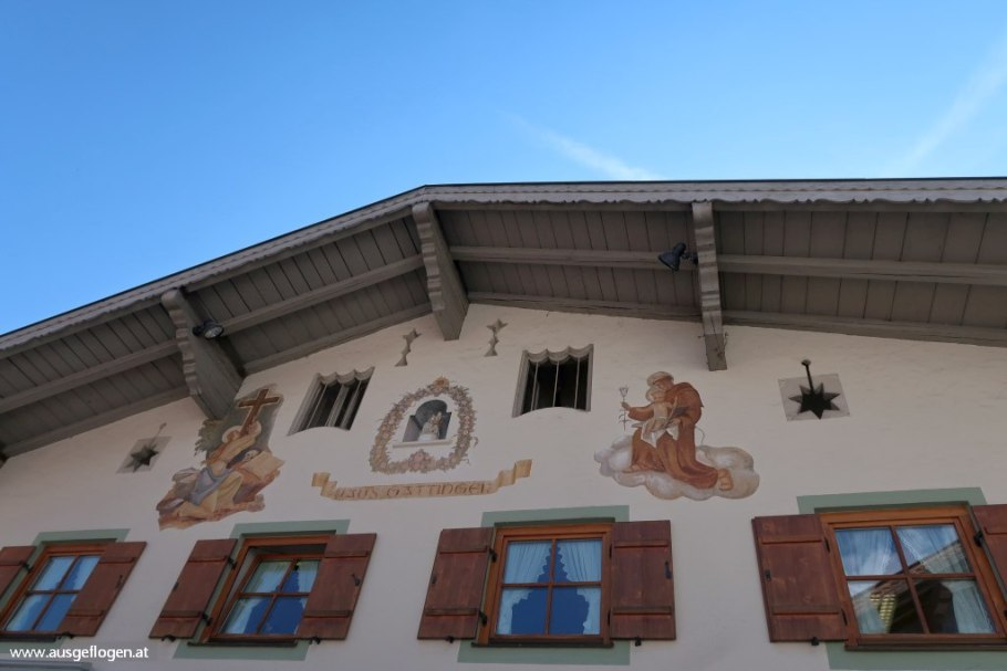Garmisch-Partenkirchen Lüftlmalerei