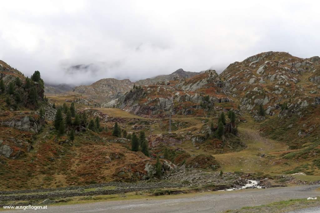 Höhenstufe 4 der Kaunertaler Gletscherstraße