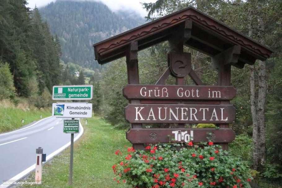 Kaunertal Seitental Tiroler Oberinntal