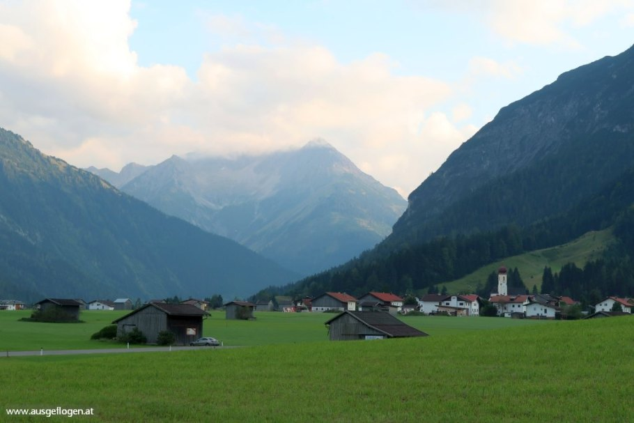 Lechtal Ausflugsziele Hinterhornbach Tirol schöne Orte