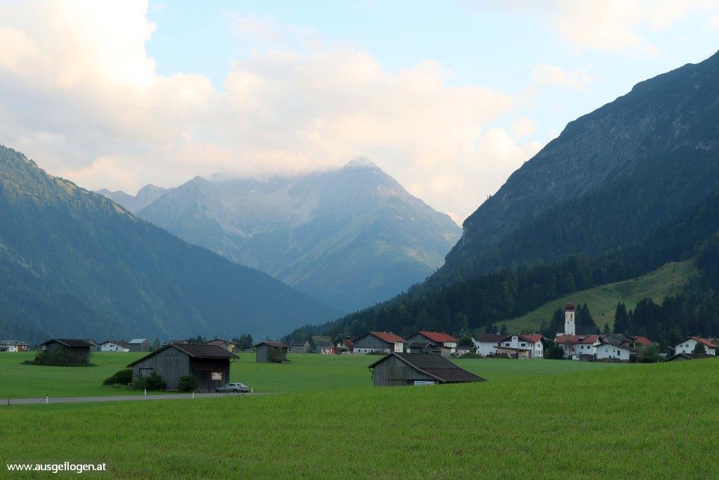 Lechtal Ausflugsziele Hinterhornbach