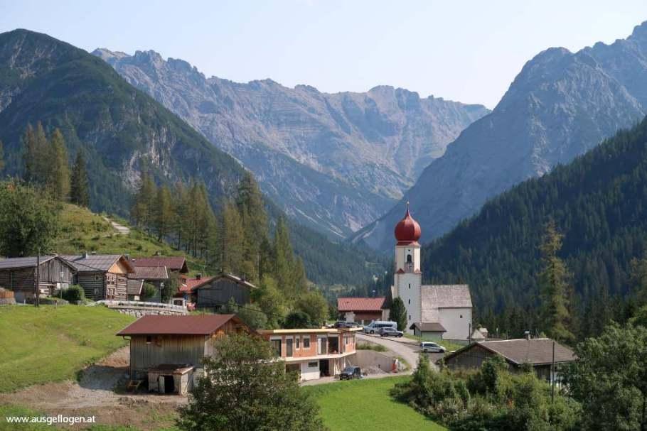Bschlabs Ausflugsziel Lechtal Tirol schöne Orte