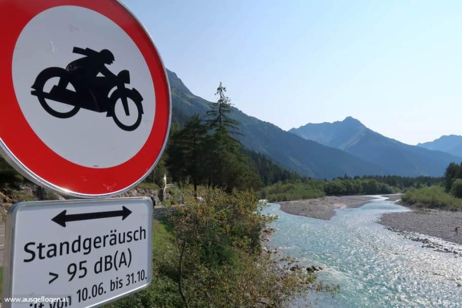 Lechtal Motorradstrecke