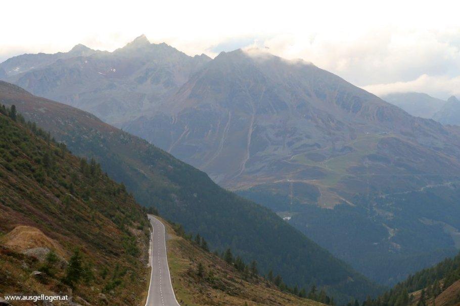 Rund um die Ötztaler Alpen:Sölden bis ins Kaunertal