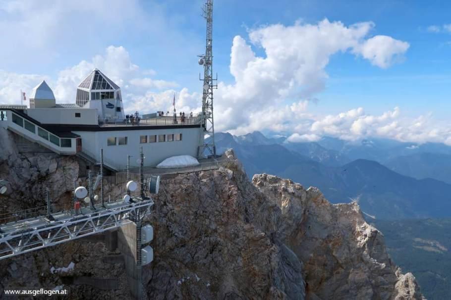 Auf der ZUGSPITZE: ein Besuch auf Deutschlands höchstem Berg