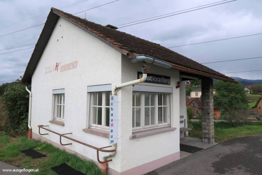 Rheintal Ausflugsziele Grenübergang Koblach ZollArt