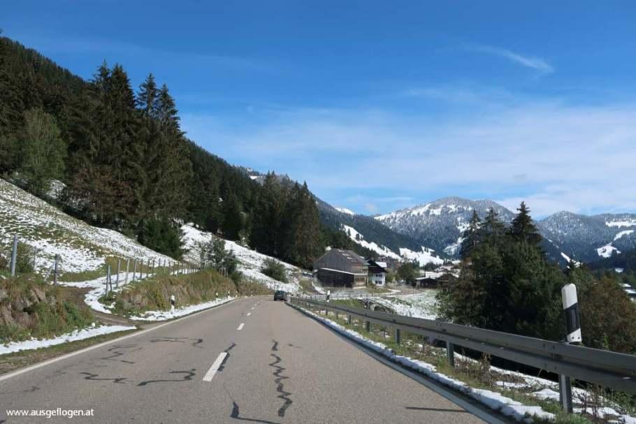 Naturpark Nagelfluhkette Bregenzerwald  Lecknertal