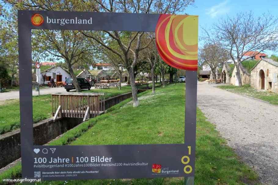 Kellergasse Purbach am Neusiedlersee im Burgenland