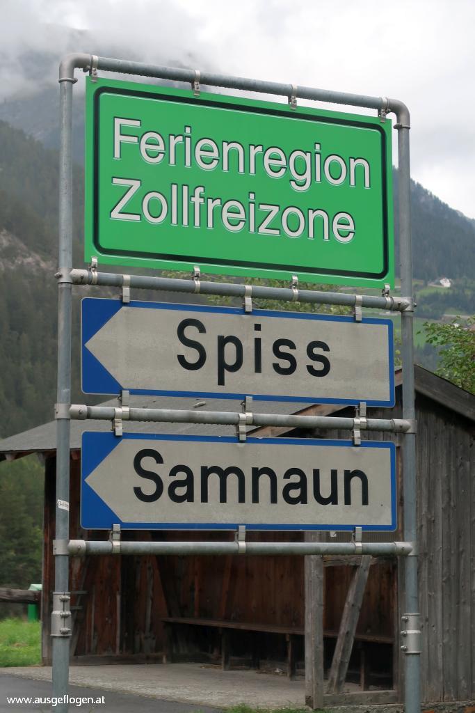 Ferienregion Zollfreizone Samnauntal