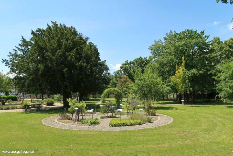 Rechnitz Bachblütenpark