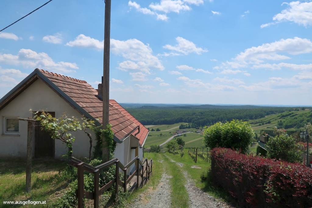 Paradiesroute Südburgenland Etappen Eisenberg Weinberg