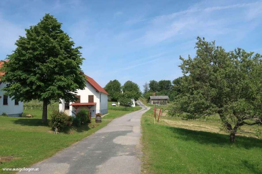 Paradiesroute Südburgenland Höhenprofil Anstiege