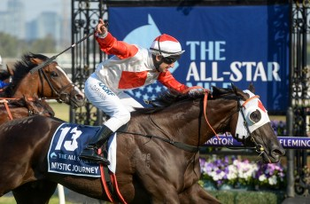Mystic Journey wins inaugural All-Star Mile