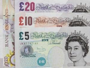 Britisches Geld umtauschen
