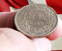 Euro in Franken wechseln