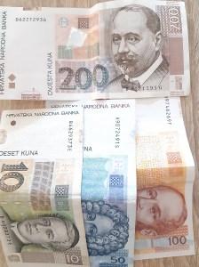 Kroatisches Geld umtauschen