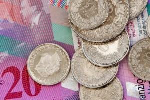 Schweiz Währung - Schweizer Franken