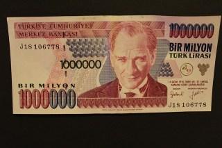 Euro in Lira -Türkei Geld umtauschen