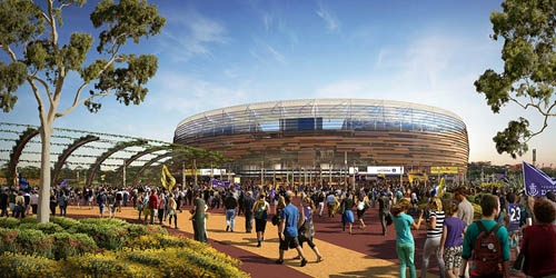 Tourism Council WA wants new Perth Stadium to attract away ...